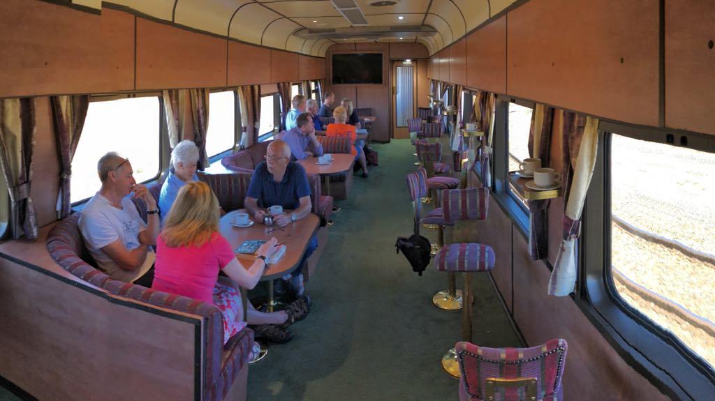 Loungen i toget