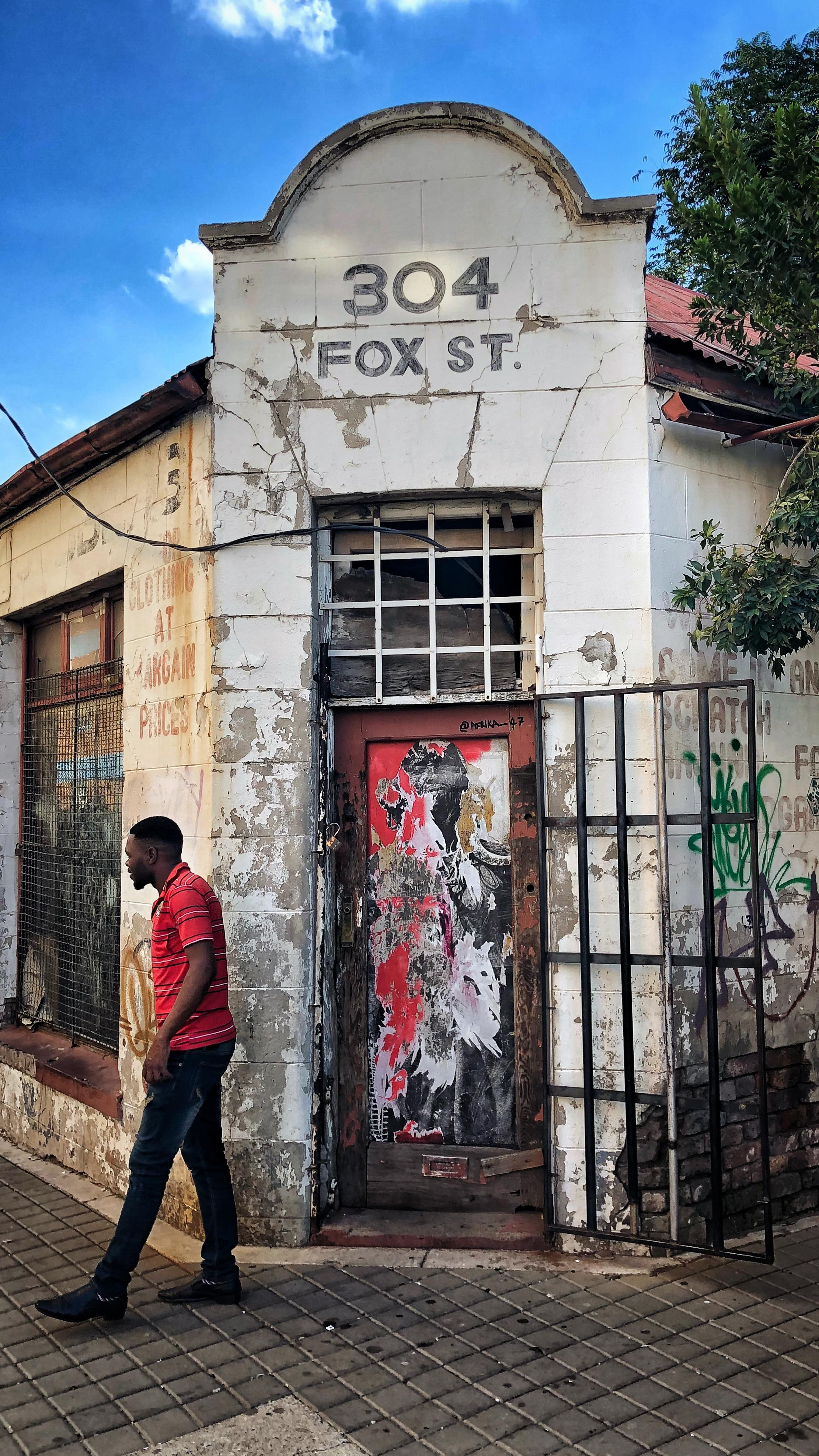 Maboneng. Her skal du bo i Johannesburg