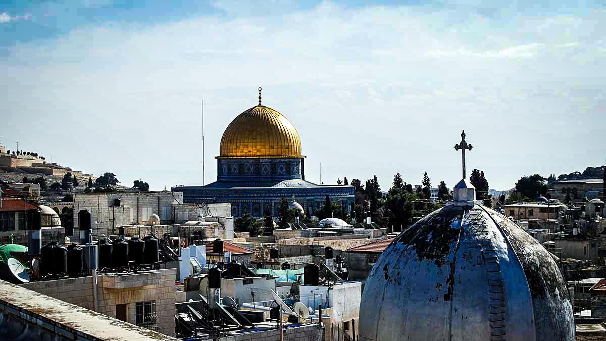 Udsigten fra Den Østrigske Mission. Syv alternative ting, som du skal se i Jerusalem. (C) Steve Conger, Flickr, Creative Common Licens CC BY-NC-ND 2.0