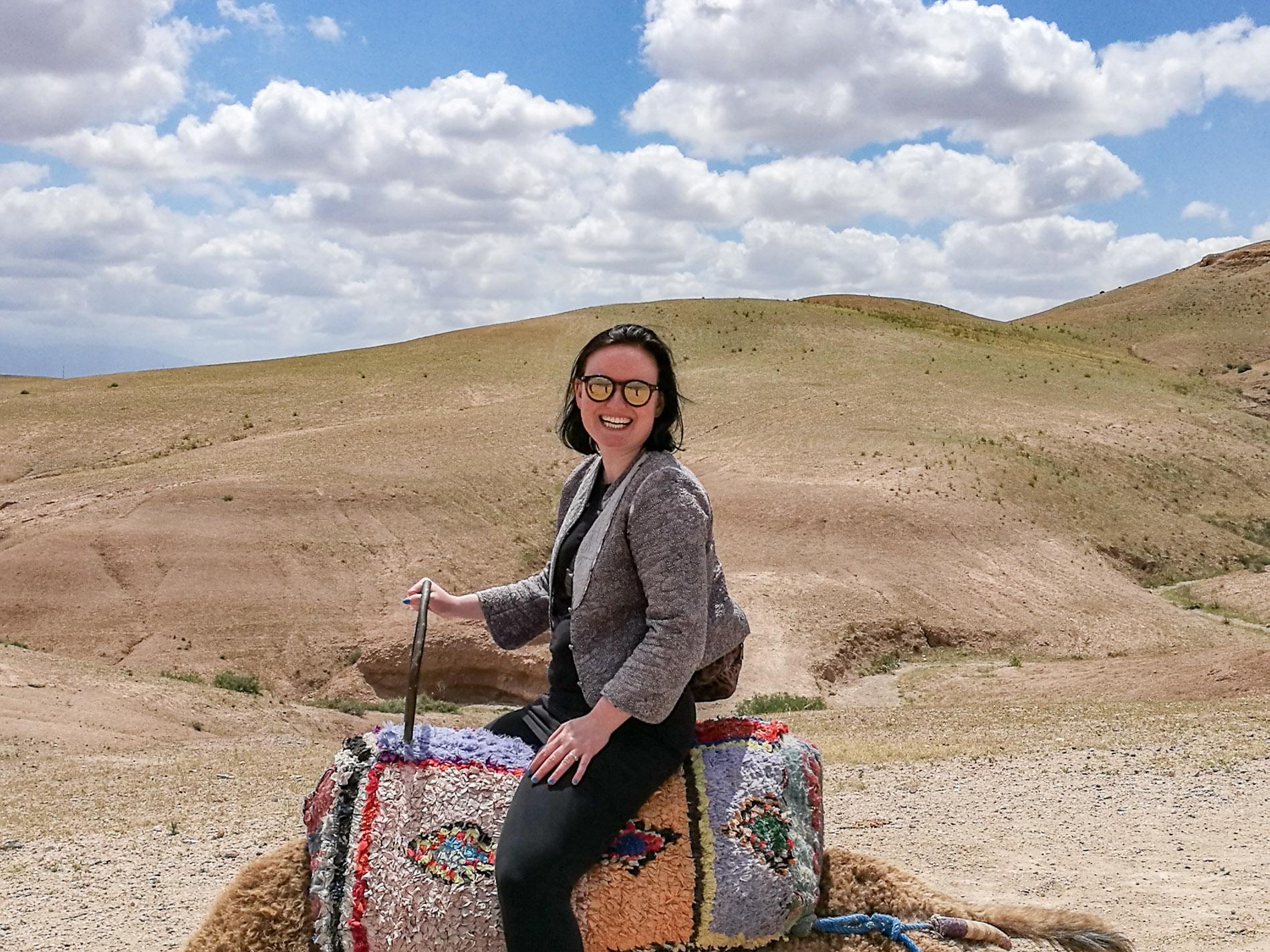 Pi fortæller i denne podcast om sin road trip til Marokko.